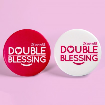 DB Logo Button Badges in ⌀58mm (Set of 2pcs)