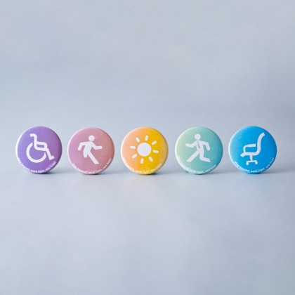 DO DREAM Button Badges in ⌀58mm (Set of 6pcs)